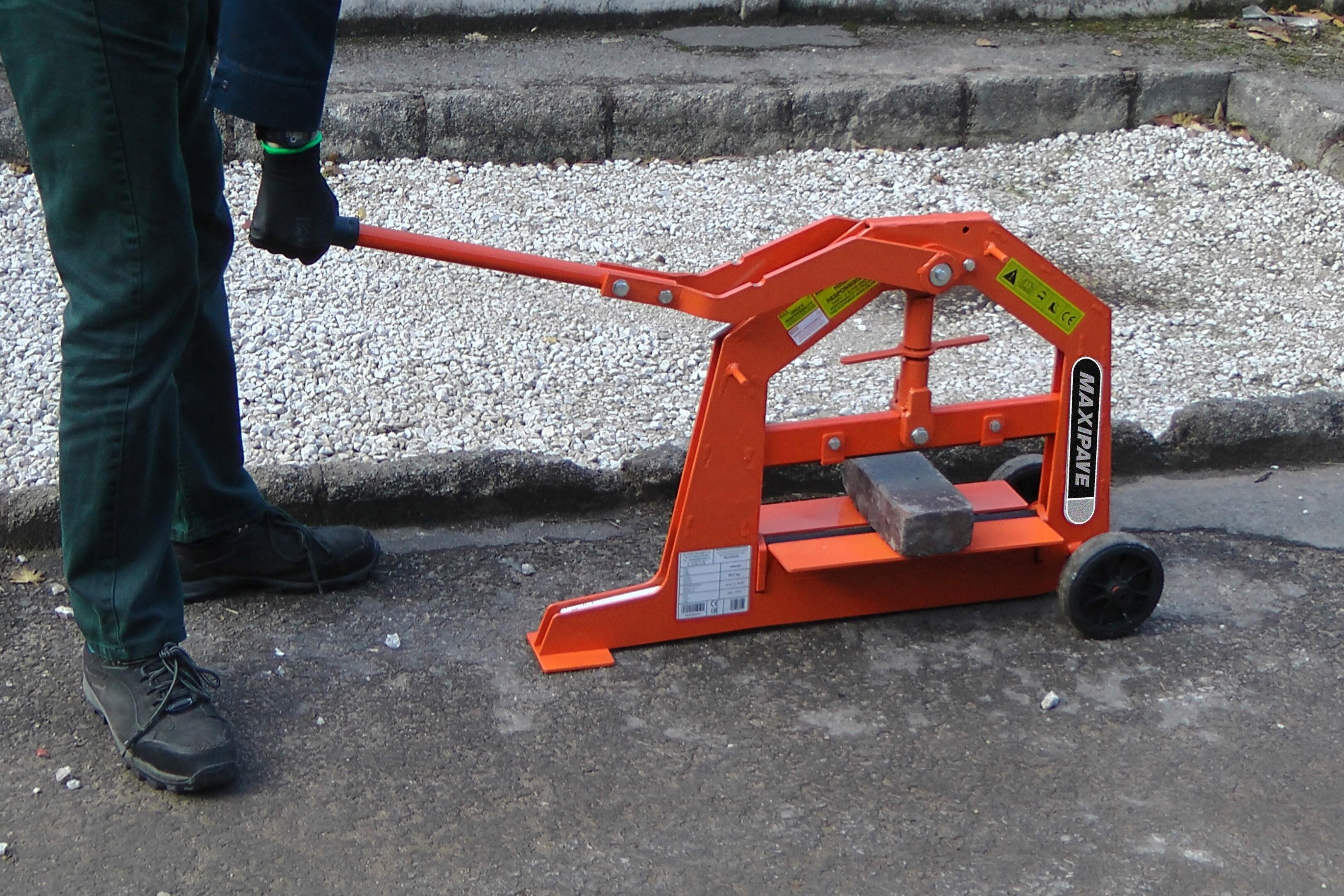 Heavy Duty Manual Block Splitter