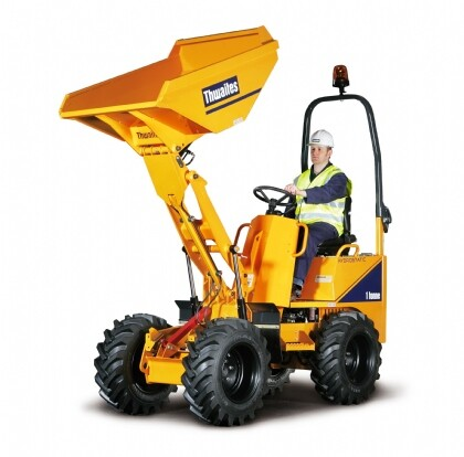 High tip dumper - 1 Ton