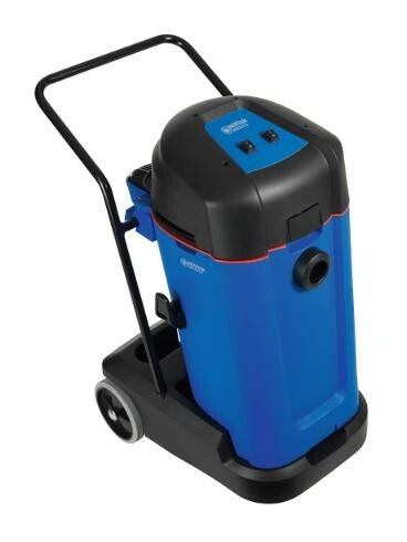 Commercial wet and dry dual motor vacuum cleaner - 75L container