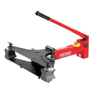 """HB383 3/4"""" - 3"""" Tip-Up Wing Hydraulic Bender"""