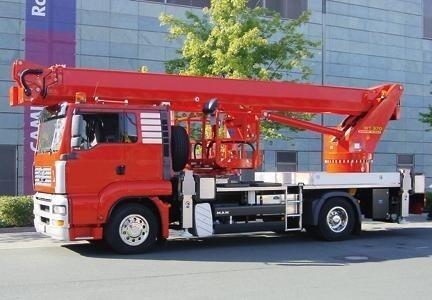 37m Truck Mounted Platform