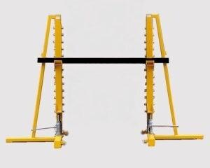 Cable Drum Jacks Hydraulic 10 Ton SWL Per Pair