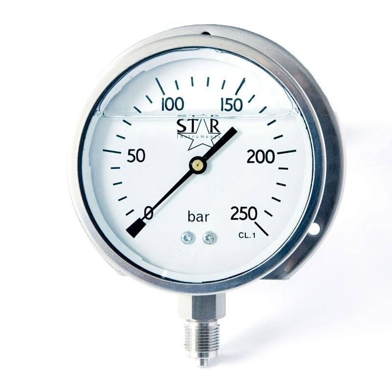 Stainless Steel Pressure Gauges