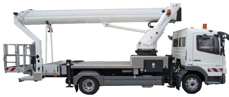 33m Truck Mounted Platform
