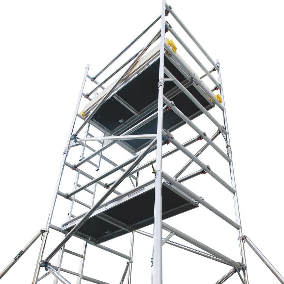 0.8m or 1.4 Wide x 2.7m Long - Aluminium Mobile Access Tower
