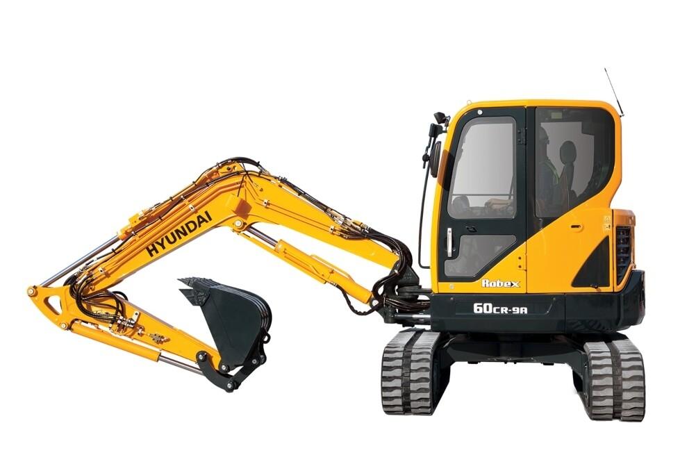 6 Tonne Mini Excavator Digger