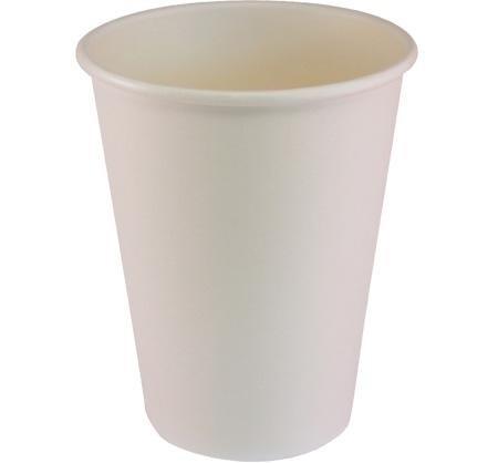7oz single wall cups – white, box of 800