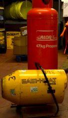 Propane / Electric Space Heater