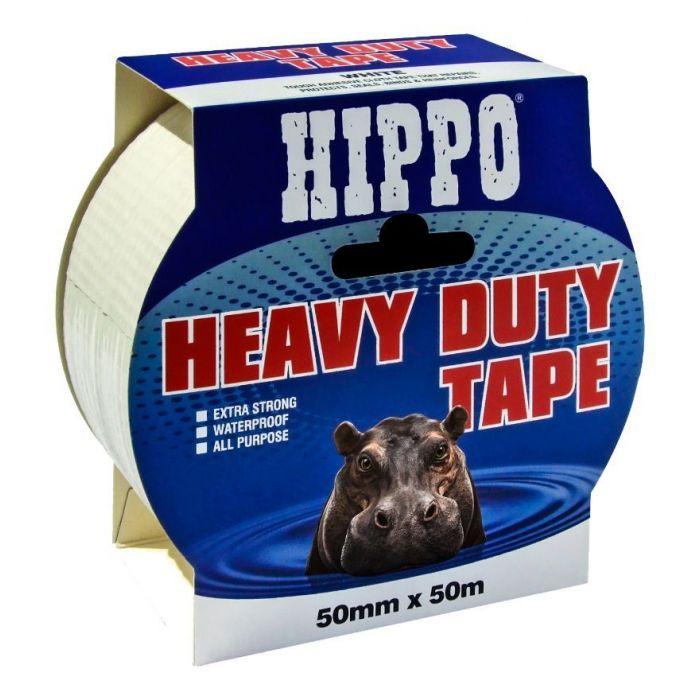 HD Tape White 25m X 50mm