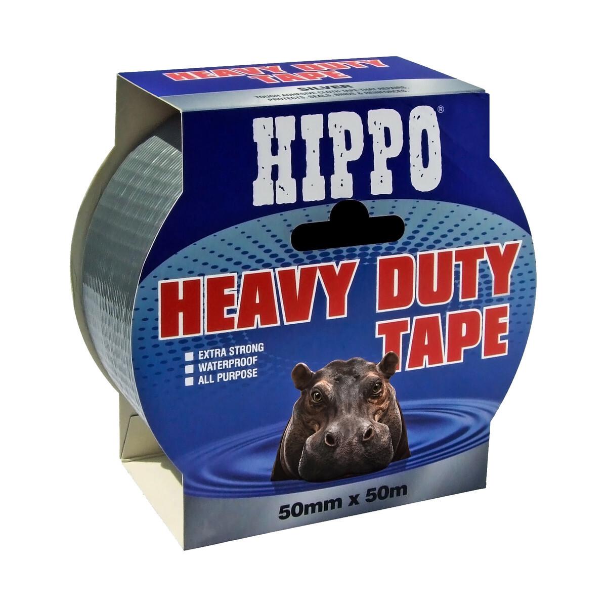 HD Tape Silver Twin 50mm x 50m