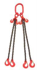 Chain Sling 6m, 3.15 ton swl, 4 leg