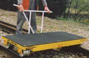 Rail Link Trolley 1.0 Ton swl