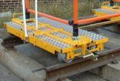 Rail Trolley Scaffold Attachment