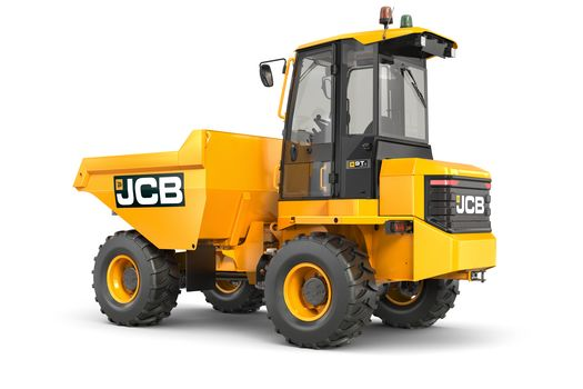 Straight Tip 9T Cabbed Dumper