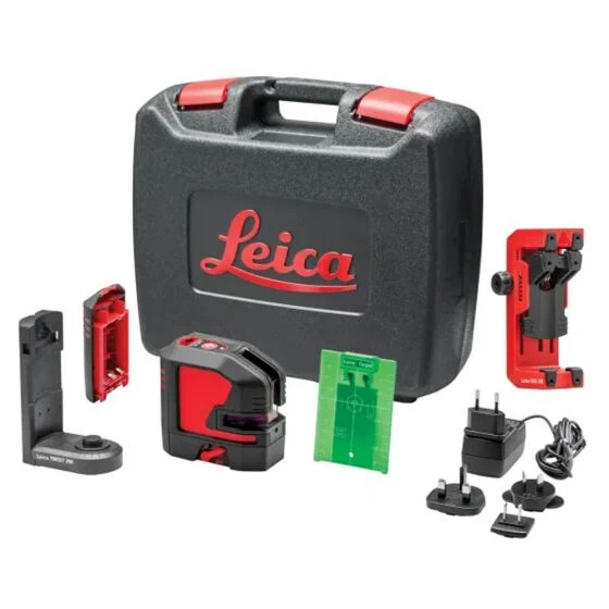 Green Cross Line Laser Level Kit