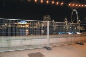 Site Security Mesh Fence