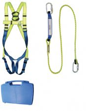 Safety Harness c/w Lanyard 1.75m, Shock Absorber & Karabiners