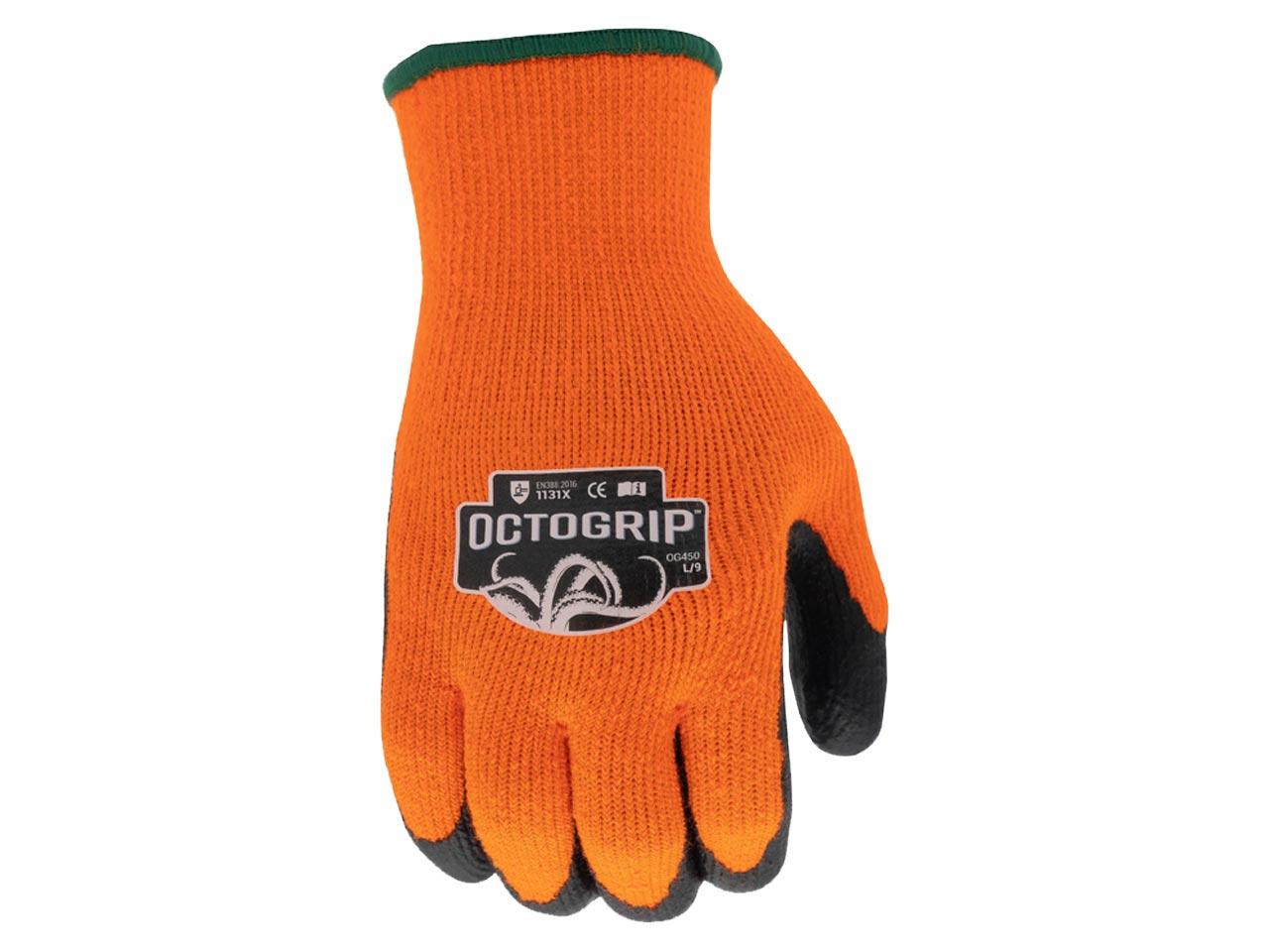 Cold Weather Foam Latex Palm Glove Size XL 10