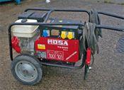Petrol  200amp Welder / Generator