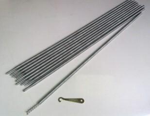 Spring Drain Rods Set C/W Worm
