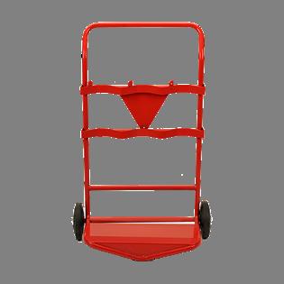 Triple Fire Extinguisher Trolley C/w Bell