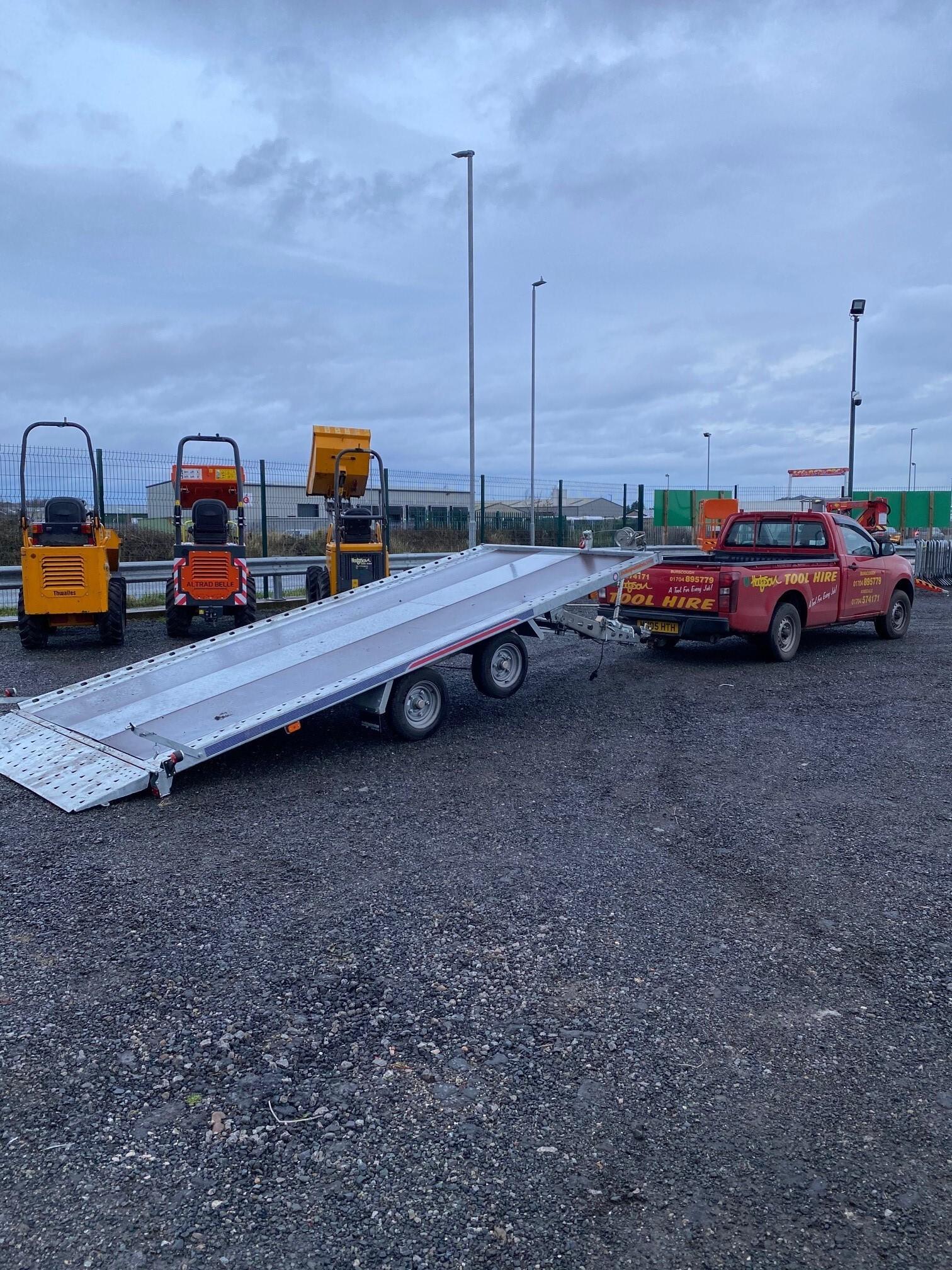 16' x 7' Tiltdeck Car Transporter Trailer