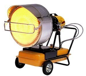 VAL 6 Infrared Diesel Heater